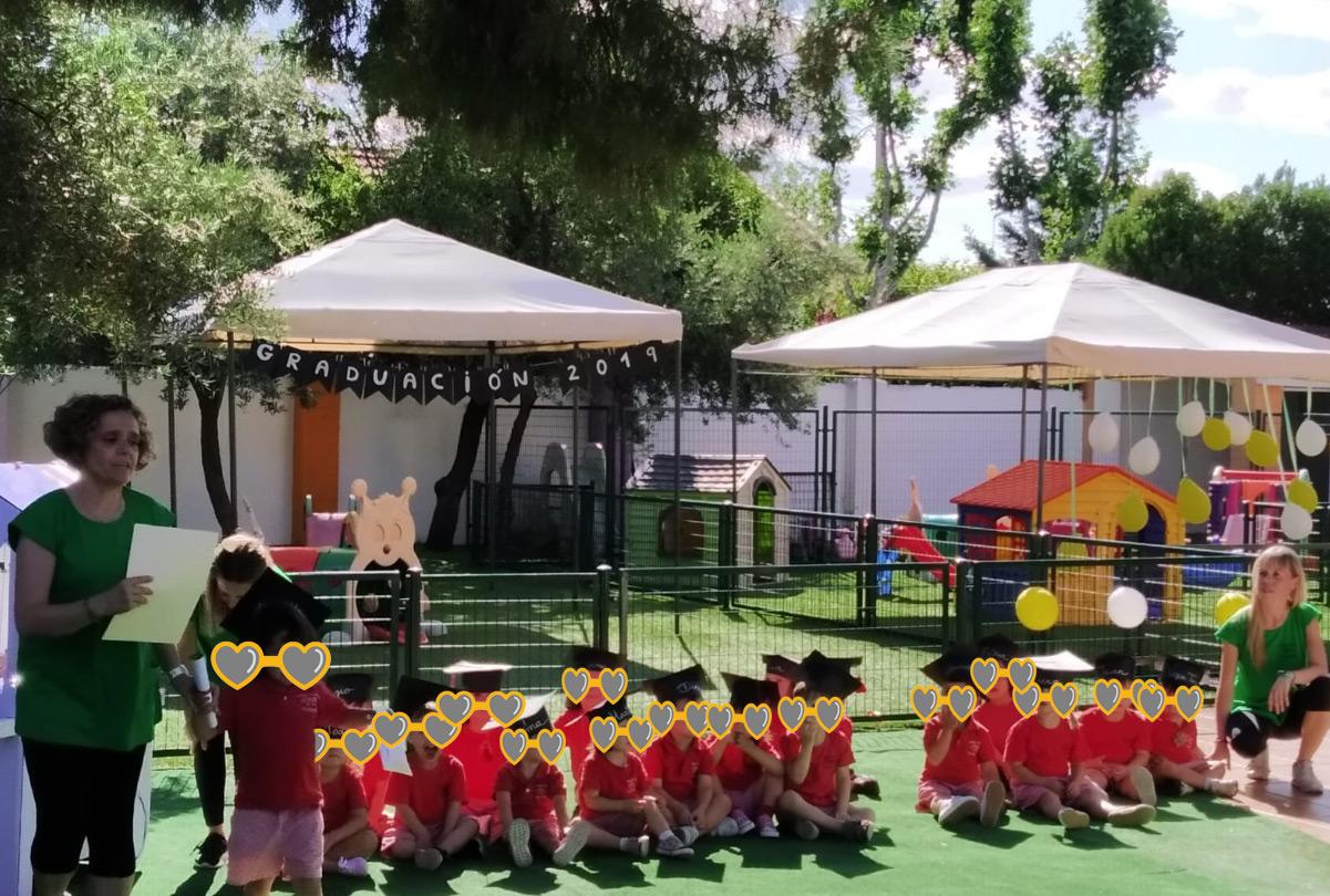 graduacion escuela infantil pozuelo